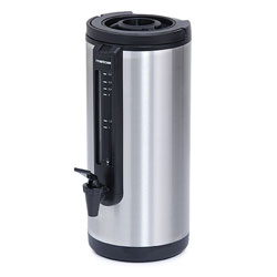 4157318 | Thermos w. tap and glass | Metos 2,4 L