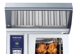 UltraVent Metos Combi Duo SelfCooking Center WE/CombiMaster Plus 61/101E |