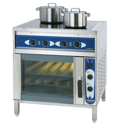 3752021 | Ceramic range with convection oven Metos Ardox C4/240 400V |