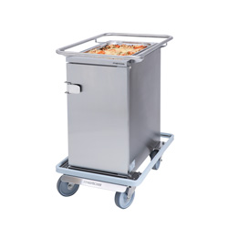3756698 | Food transport trolley Metos Termia 1000 HLN CB with 160 mm central lockable wheels |