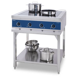 4000450 | Induction range Metos EcoKitchen IND-E0P-L5000x4U |