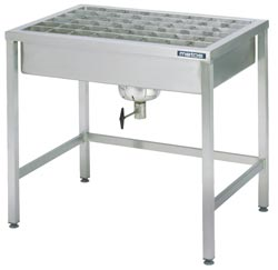 4126893 | Pre-Wash table for Metos granule machines |