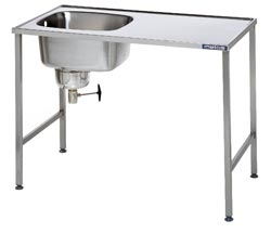 4129213 | Prewash table  Metos  02 |