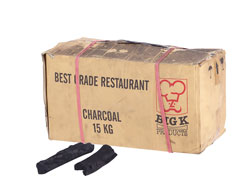 4149950 | Charcoal box 15 kg Metos Rest Grade Charcoal |
