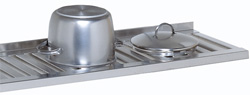 4150575 | Grid shelf Metos , stainless steel 1780x300mm |