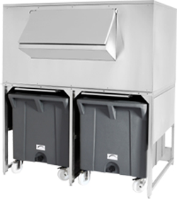 4171972 | Double Roller Bin Metos DRB500 G1000 with two bins |