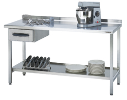 4180430 | Work table Metos Proff 1600*650*900 mm |