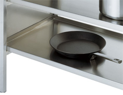 4180851 | Solid shelf 504mm Metos Classic |