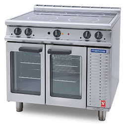 4210040 | Induction range with convection oven Metos Falcon E3913i 400 |