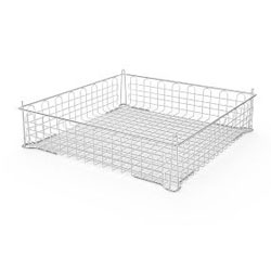 4235015 | Basket Metos, plastic coated stainless steel 500 x 500 x 75 |