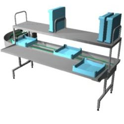 4246240 | Dish sorting unit Metos Easy Clean 5A L-R 90° |