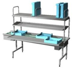 4246242 | Dish sorting unit Metos Easy Clean 4A R-L restaurant |