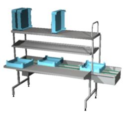 4246245 | Dish sorting unit Metos Easy Clean 4A L-R restaurant |