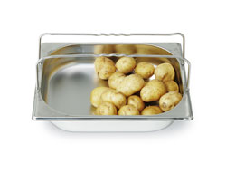 4255111 | GN container Metos GN1/2-65H, with handle, stainless steel |