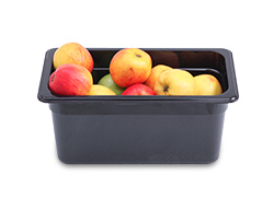 4281020 | Plastic container Metos GN1/3-150, black |