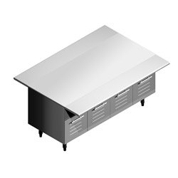 4319119 | Serving Trolley Metos Nova SB 1600-750 |