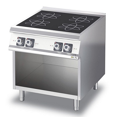 4343884 | Induction range  D74/10GCI with open cupboard |