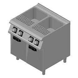 4344112 | Pasta-cooker Metos Diamante D74/10CPE with two 28 litres bas |