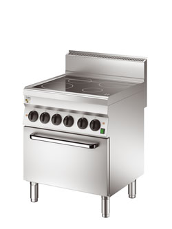4391488 | Ceramic range with oven Metos OV6FEV7EP 400V3N~ |