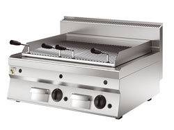 4391548 | Lava rock grill Metos OGPL68G |