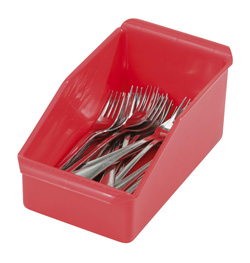 4550142 | Cutlery box Metos 123R, red |