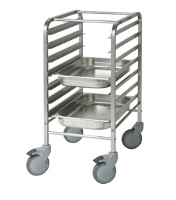 Trolleys for GN containers