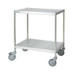 4554080 | Service trolley Metos SET-75WH/2 high, 2 tiers |