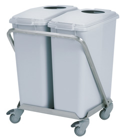 4554152 | Waste trolley Metos WAT-120 |