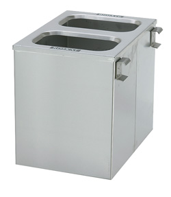 4554190 | Wastebins 2x11 l for Metos COT-75/SET-75/105 |