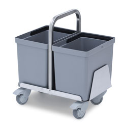 4554441 | Waste bin trolley Metos WAT-40 low |