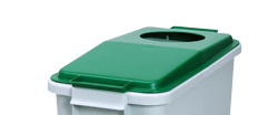 4554712 | Lid for Metos waste trolley WAT-60 Green |