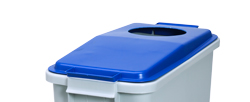 4554714 | Lid for Metos waste trolley WAT-60 Blue |