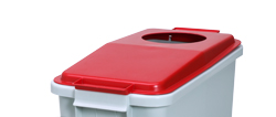 4554718 | Lid for Metos waste trolley WAT-60 Red |