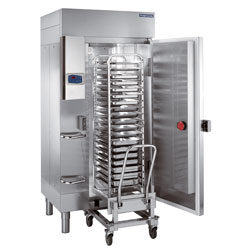 Blast chillers and shock freezers for oven racks