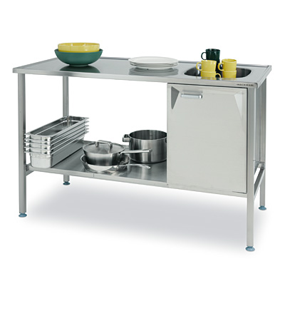 Flat Pack Kitchen Workstations